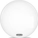 "Evans BD22MX1W 22"" MX1 MARCH BASS WHT"