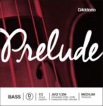 Prelude by Daddario J612 1/2M Bass Single D String, 1/2 Scale, Medium Tension