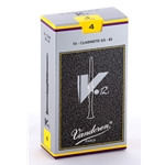 Vandoren CR194 Bb Clarinet V.12 Reeds Strength #4; Box of 10