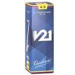 Vandoren CR8245 Bass Clarinet V21 Reeds Strength #4.5; Box of 5