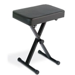 Yamaha PKBB1 Folding, black, metal, padded, X-style keyboard bench