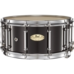 PEARL  Pearl CRP1465103 14x6.5 Concert 6-Ply Maple Snare Drum, PIANO BLACK