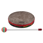 Remo  KD-0108-01  Kids Percussion® Frame Drum - Fabric Rain Forest, 8""
