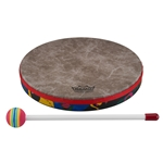 Remo  KD-0110-01  Kids Percussion® Frame Drum - Fabric Rain Forest, 10""