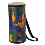 Remo  KD-1506-01  Kids Percussion® Konga Drum - Fabric Rain Forest, 6""