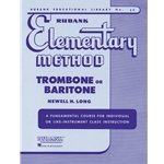 Rubank Elementary Method - Trombone or Baritone