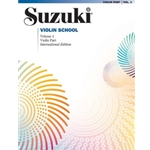 Suzuki Violin School Violin Part, Volume 1 [Violin]