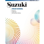 Suzuki Violin School Violin Part, Volume 6 (Revised) [Violin]
