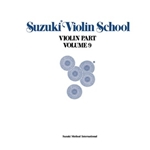 Suzuki Violin School Violin Part Volume 9 - Book Only