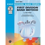 First Division Band Method, Alto Sax, Part 2