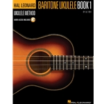 HAL LEONARD BARITONE UKULELE METHOD – BOOK 1 by Lil' Rev