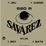 Savarez 520R Guitar String Set - Normal Tension - Rectified nylon trebles with traditional basses
