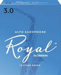 Royal by Daddario RJB1030 ROYAL, ALTO SAX, #3, 10 BX