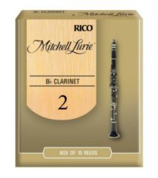 Mitchell Lurie Bb CLARINET Clarinet Reeds, Strength 2.0, 10-pack