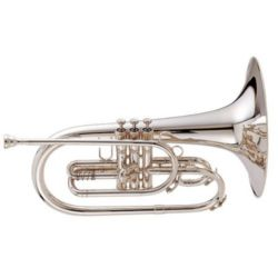 "KING 1121SP Marching Brass  ""Ultimate"" Marching Mellophone - Key of F"