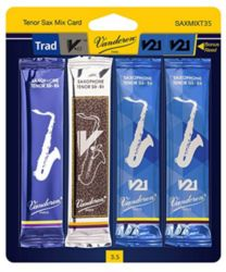 SAXMIXT35 Vandoren Tenor Sax Classical Mix Card #3.5