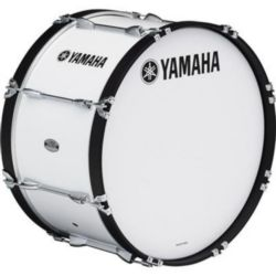 "Yamaha MB-6324WR Power-Lite Marching Bass Drum; 24"" X 13"" With"