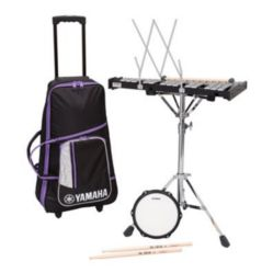 Yamaha SBK-350 Total Percussion Bell Kit In Soft Rolling Case With Built-In Cart