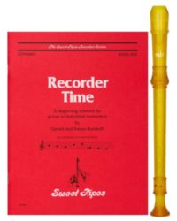 Rhythm Band RBA100Y RECORDER PKG (CR101Y/SP2308)