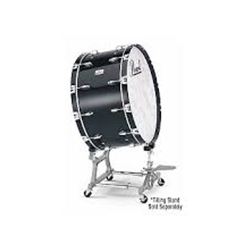 Pearl PBE3616F46 36x16 Concert Kapur BD with Field Wheel STBDF Stand *Pre-Drilled with Hooks Included