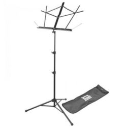 On-Stage SM7122BB  Compact Sheet Music Stand (Black, w/ Bag)