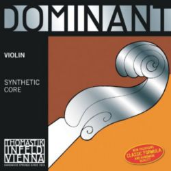 Dominant  129MS Violin E Plain Steel Loopend