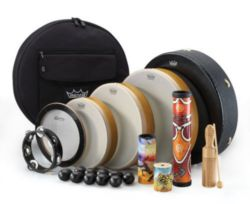 Remo  DP-0250-00  Travel Percussion Drum Pack