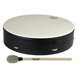 Remo  E1-0314-71-CST  Buffalo Drum Comfort Sound Technology® - Black, 14""