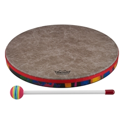 Remo  KD-0114-01  Kids Percussion® Frame Drum - Fabric Rain Forest, 14""