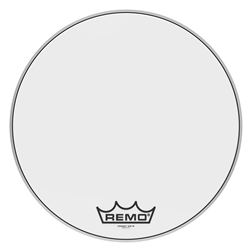 Remo  PM-1022-MP  Powermax® Ultra White Crimplock® Bass Drumhead, 22""