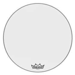 Remo  PM-1030-MP  Powermax® Ultra White Crimplock® Bass Drumhead, 30""