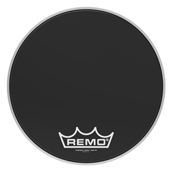 Remo  PM-1416-MP  Powermax® Ebony® Crimplock® Bass Drumhead, 16""