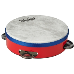 Remo  TA-1506-52  Kids Make Music Tambourine - Red, 6""