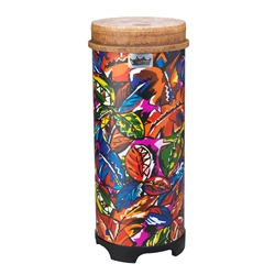 Remo  TU-0510-09  Valencia 50-Series Tubano® Drum - Pre-Tuned, Tropical Leaf, 10""