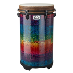 Remo  TU-1114-17  Valencia 100 Series Tubano® Drum - Tunable, Rainbow, 14""