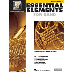 Essential Elements for Band - Book 1 with EEI - F Horn