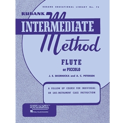 Rubank Intermediate Method - Flute or Piccolo