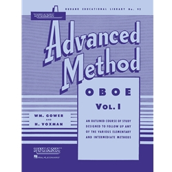 Rubank Advanced Method - Oboe Vol. 1