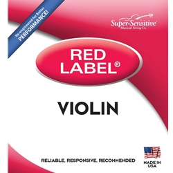 Super Sensitive 2105_SS RED LABEL VIOLIN SET 3/4