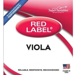 Super Sensitive 4104_SS RED LABEL VIOLA SET JR 13""