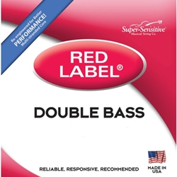 Super Sensitive 8106_SS RED LABEL BASS SET  1/4  JR