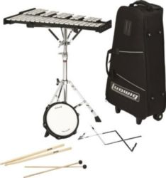 M652R LUDWIG BELL KIT W/ROLLING BAG