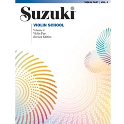 Suzuki Violin School Violin Part, Volume 4 [Violin]