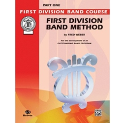 First Division Band Method, Tenor Sax, Part 1