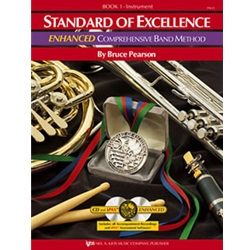STANDARD OF EXCELLENCE ENHANCED BK 1, DRUMS & MALLET PERCUSSION