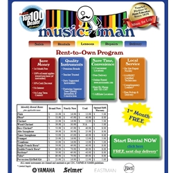 MUSIC MAN RENTAL ADVANTAGE Need to Rent an Instrument?
